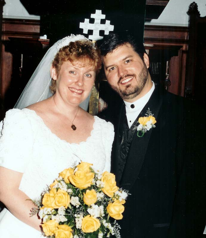 Rick and Dierdre 10 years ago.